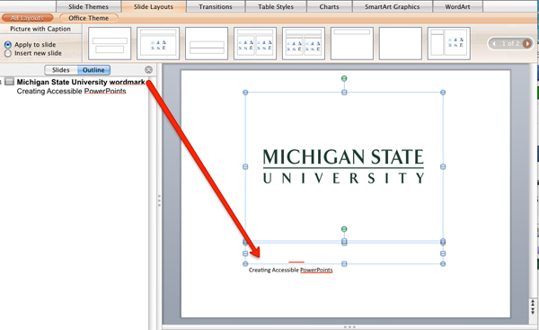 how to make transluschent text box in powerpoint