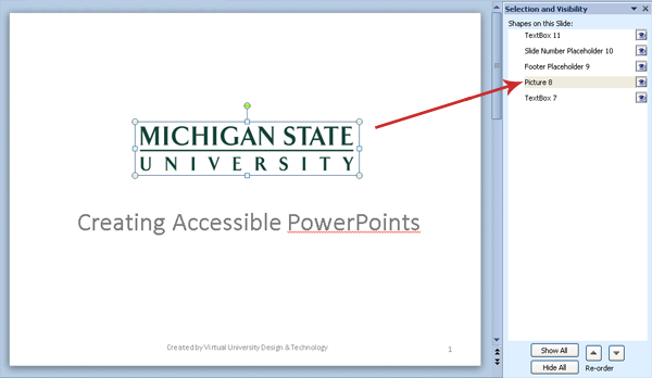 mircosoft powerpoint (windows) accessibility tutorial | web, Presentation templates