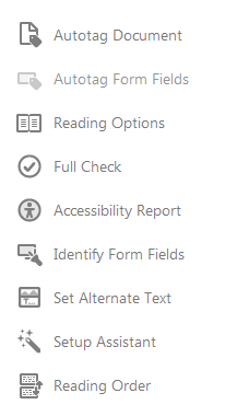 Accessibility tool bar on right side.