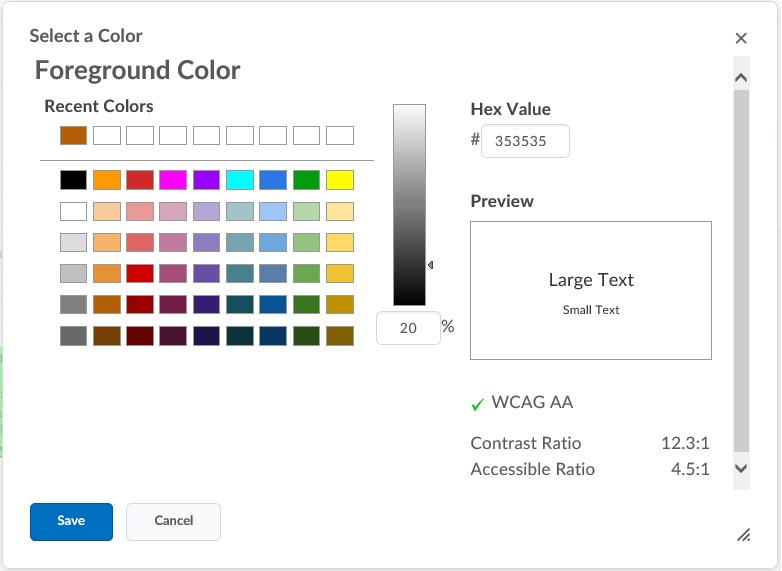 Color Contrast Tutorial | Web Accessibility | Michigan State