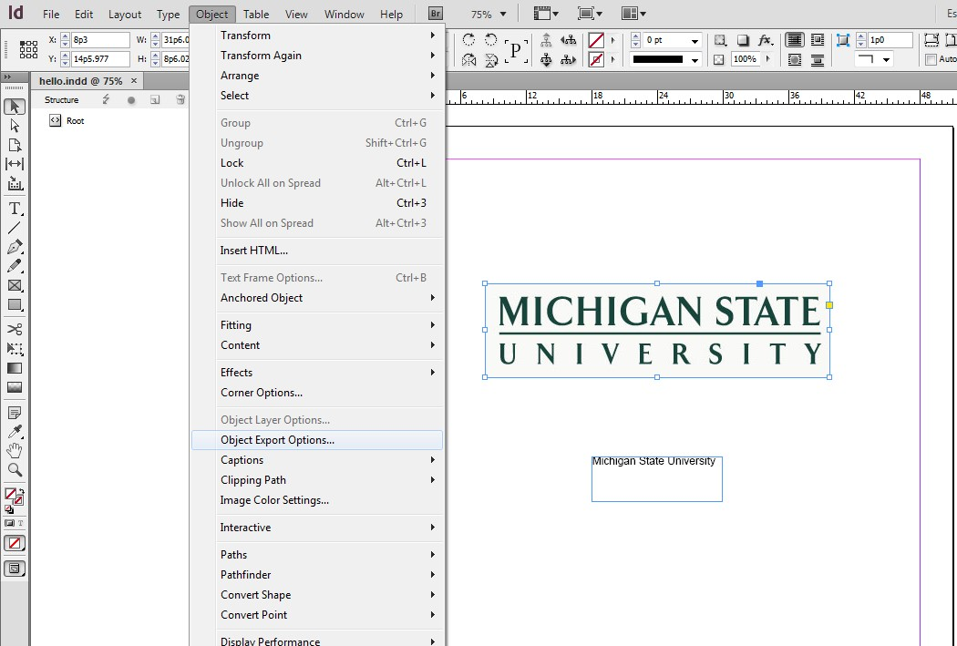 Creating Accessible InDesign Content | Web Accessibility | Michigan